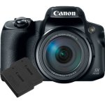 Canon Powershot SX70 Hs Bundle With Extra Battery