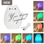 4AKID Colourful Animal Silicone Night Light