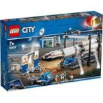 Lego City Space Port - Rocket Assembly & Transport 1055 Pieces