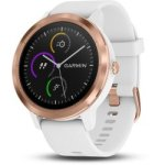 Garmin Vivoactive 3 in White & Rose Gold