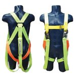 Double Lanyard Shock Absorber Safety Harness