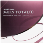 Alcon Dailies Total 1 Daily Contact Lenses 90 Pack