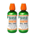 Therabreath Oral Rinse Saver Twin Pack