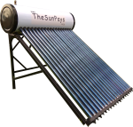 Low Pressure 200l Solar Geyser with Auxiliary Tank