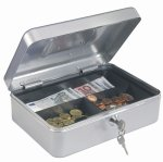 Rottner Tresor Traun 3 Cash Box in Silver