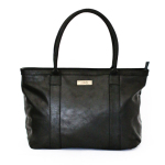 Mally Leather Bags Emily Leather Handbag in Black