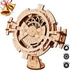 Robotime 3D Wooden Mechanical Puzzle Diy Perpetual Calendar Craft Kits Laser-cut Model Kit To Build For Adults Great Birthday Fo