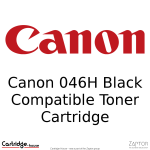 Canon 046 046H Black High Yield Compatible Toner Cartridge