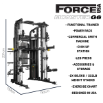 Fitness Network Force Usa Monster G6 - 2019 Model