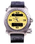 Breitling Emergency Yellow Dial Men's Watch