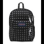 JanSport Big Student Backpack Black Sketch Dot