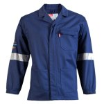 Pinnacle Welding & Safety D59 Flame Retardant & Acid Resist Jacket Safety Overall With Reflective Tape