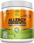 Immune Allergy Supplement For Dogs - With Omega 3 Wild Alaskan Salmon Fish Oil & Epicor + Digestive Prebiotics & Probiotics - Se