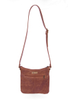 Mally Leather Bags Leather Sling Bag in Brown