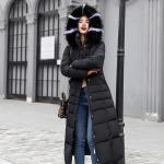 Eprolo Estylo Winter Warm Waterproof Overcoat - Black XL