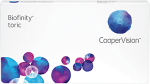 Cooper Vision Biofinity Toric Contact Lenses