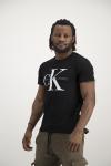 Calvin Klein Iconic Logo T-Shirt In Black - XS