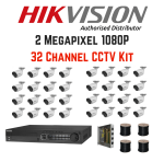 Hikvision 1080P 8 Channel Turbo HD Cctv Kit 4TB Hard Drive