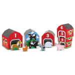 Nesting And Sorting Barns And Animals - Melissa & Doug