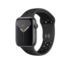 Apple Watch Nike Series 5 44MM Space Gray Aluminium Gps Anthracite black Sports Band