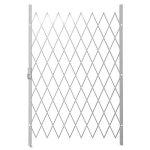 Saftidor D Slamlock Security Gate - 1300MM X 2000MM White