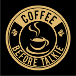 Coffee Before Talkie Logo Black