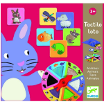 Tactilo Loto Animals Game - Djeco